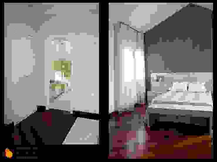 Dormitorio principal Casas de estilo moderno de gesHAB Interiorismo Moderno