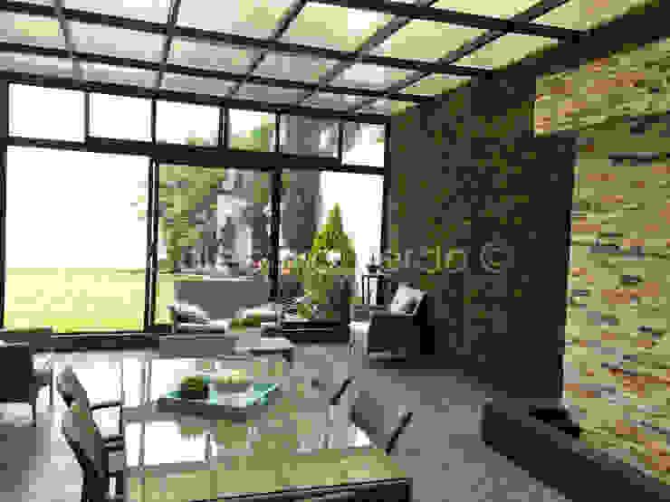Jardines de estilo  por Colectivo Verde, Moderno