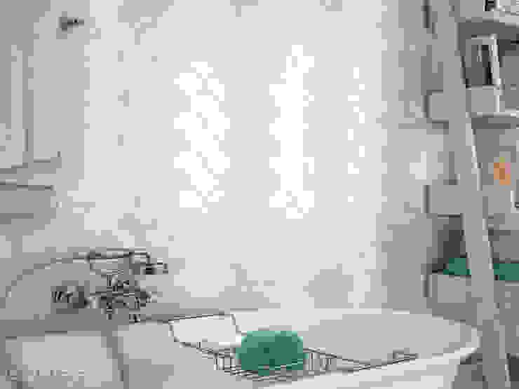 Scale Fan Baños de estilo mediterráneo de Equipe Ceramicas Mediterráneo Cerámico