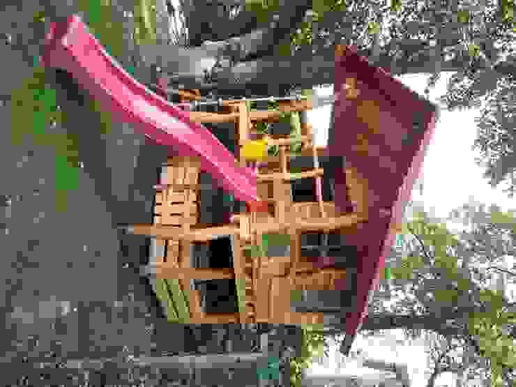 Steglitz von Houtwerken - Spielgeräte 'Spielräume im traditionellen Holzbau'
