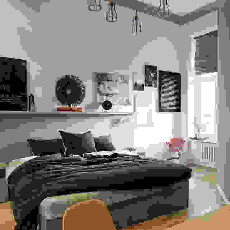 Ideen Fur Dein Schlafzimmer In Schwarz Weiss Homify