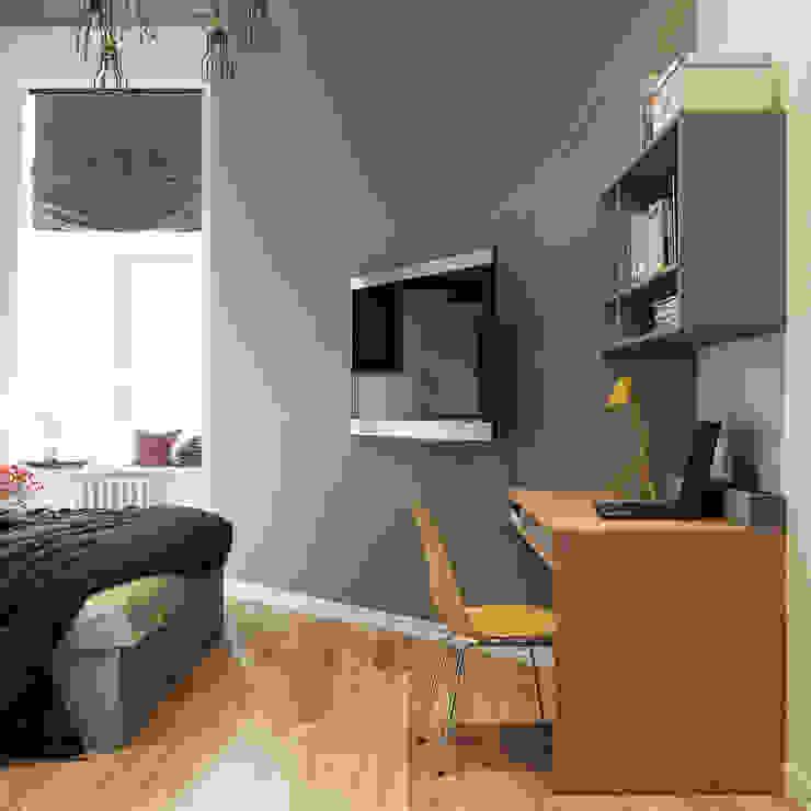 sreda Camera da letto in stile scandinavo