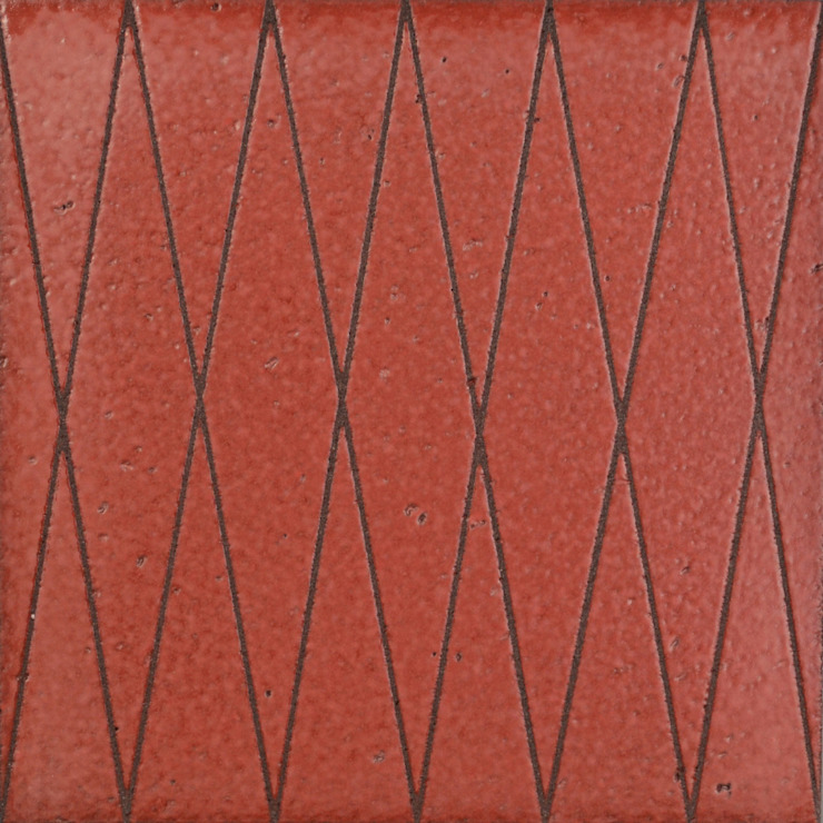 Collection de carreaux de lave 'LINES' par ulrike weiss céramiques