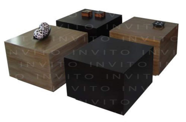 Mesa de Centro Cubos de INVITO Minimalista