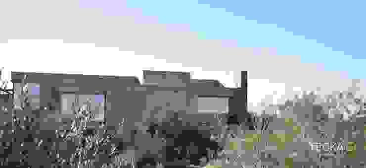 Casa Rodriguez Casas rústicas de Tecka Arquitectura Rústico