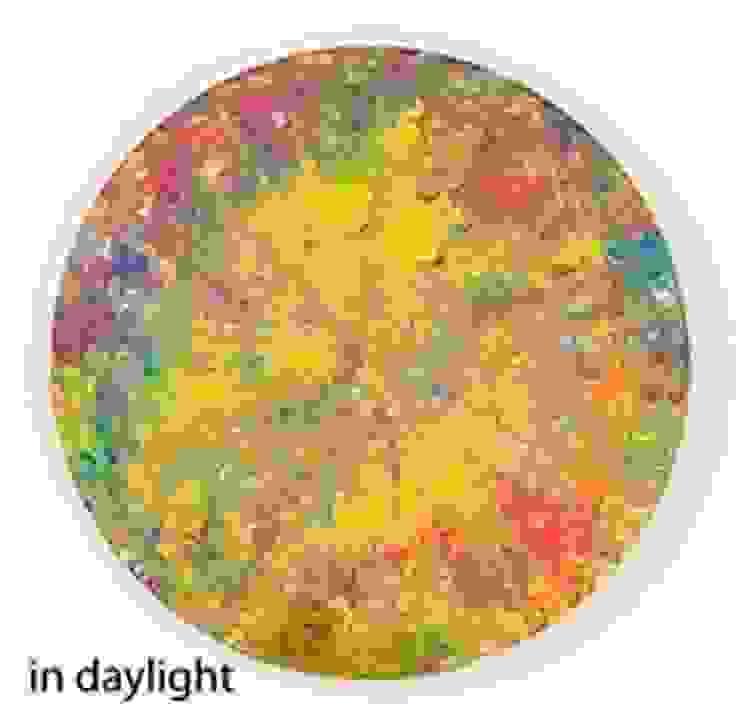 Transforming artwork using Eli-Glow Photo luminescent Pigments Eli-Chem Resins U.K Ltd ArteCuadros y pinturas