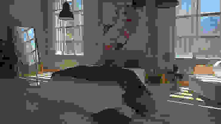 Ibu 3d Kamar tidur: Ide desain interior, inspirasi & gambar