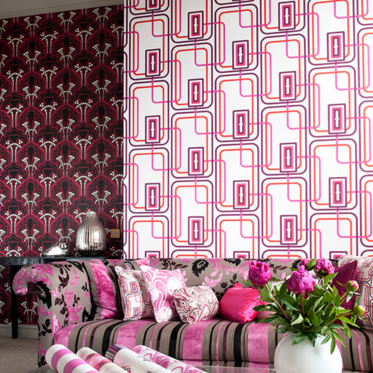 Night Fever and Gloria Wallpaper by Gill Nono