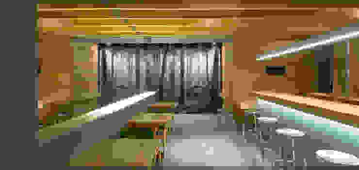 Bar Restaurante Basetxe.. Gastronomía de estilo rústico de Estudio TYL Rústico