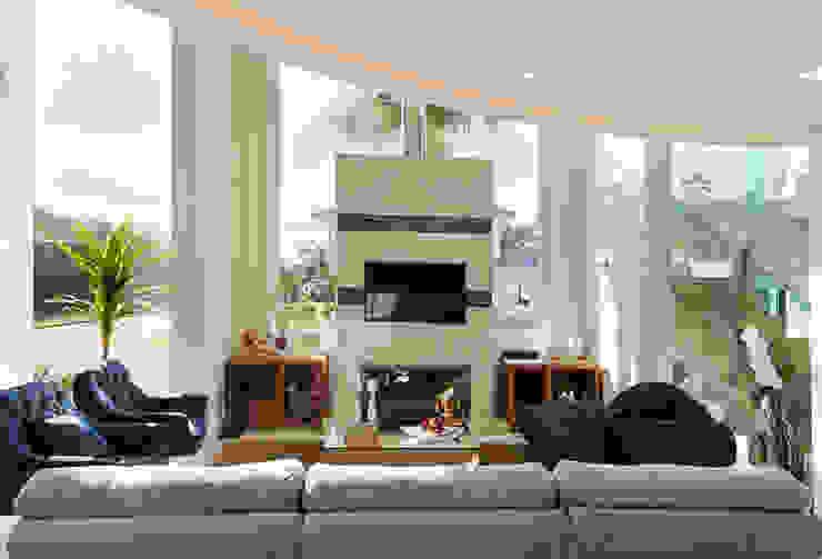Casa curva por Biazus Arquitetura e Design Moderno