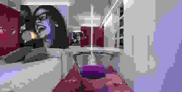 Dormitorio juvenil.. Dormitorios de estilo moderno de Estudio TYL Moderno