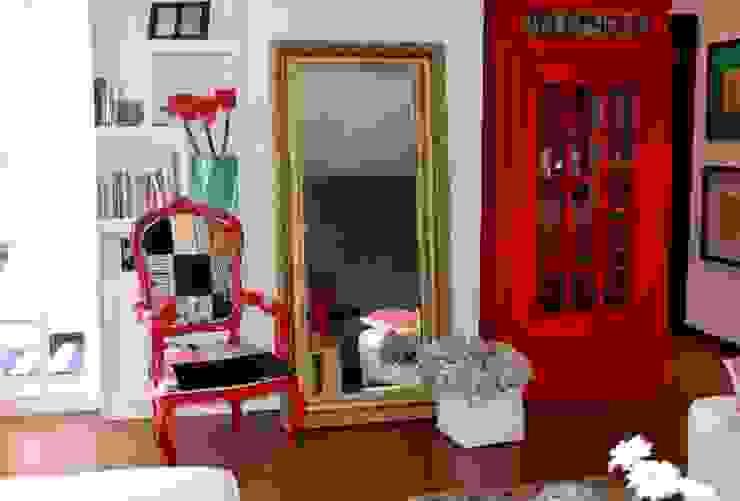 Sala Loft Salones eclécticos de Sandra Molina Ecléctico