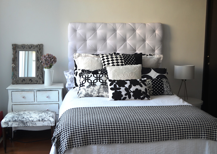 Eclectic style bedroom by Sandra Molina Eclectic