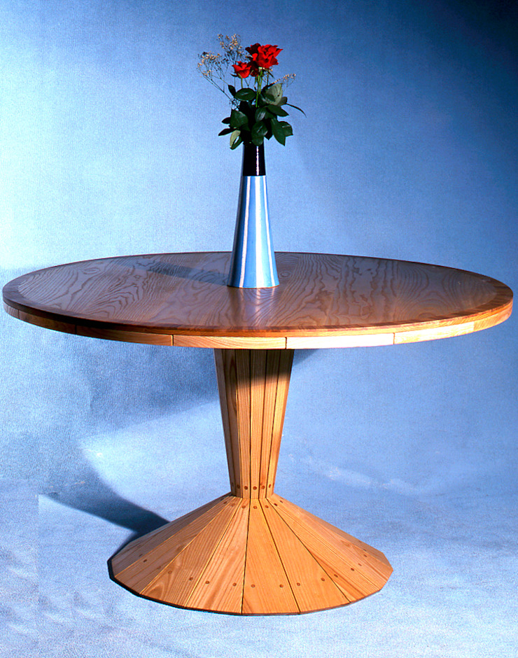 Ash dining table by David Arnold Design