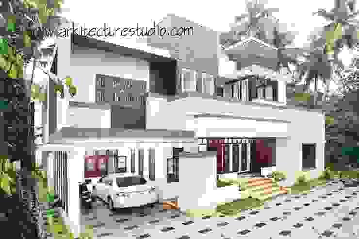 architecture in kerala _Arkitecturestudio: colonial  by Arkitecture studio,Architects,Interior designers,Calicut,Kerala india,Colonial