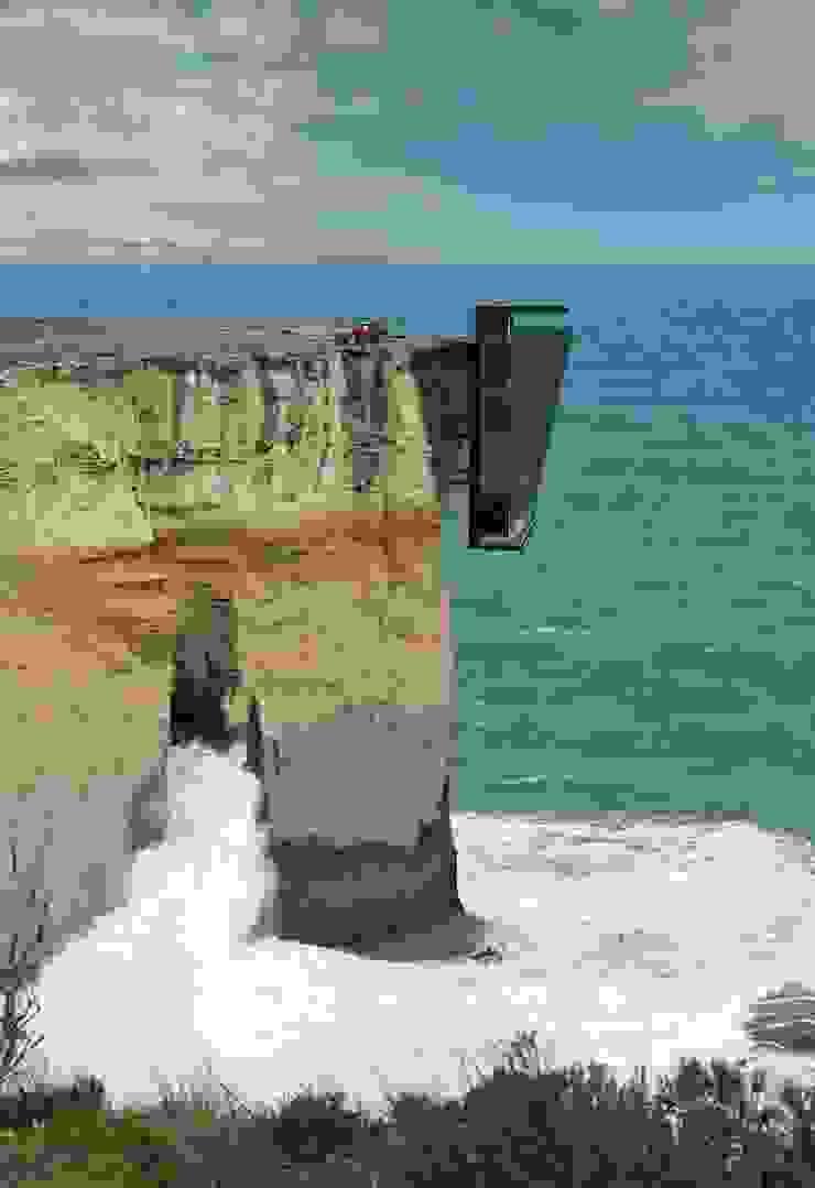 Cliff House by Modscape Concept external de Modscape Holdings Pty Ltd
