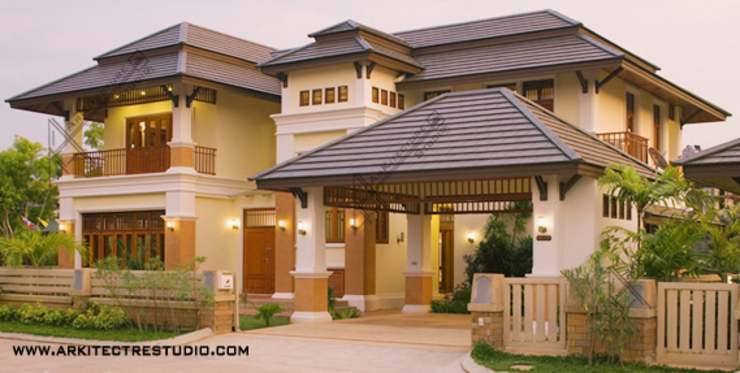 Kerala Style Luxury Home Designs By Arkitecture Studio Homify