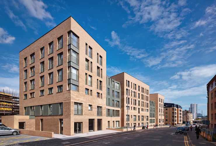 Argyle Street / Shaftsbury Place, Glasgow Modern houses by Collective Architecture Ltd Modern
