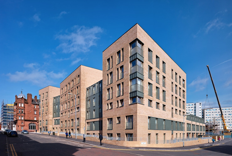 Argyle Street/ Shaftsbury Place Modern houses by Collective Architecture Ltd Modern