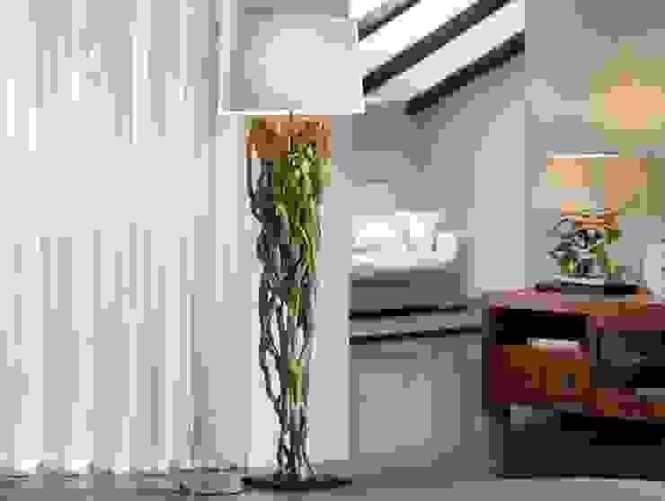Lámpara de Pie Moderna Liana de Ámbar Muebles Moderno