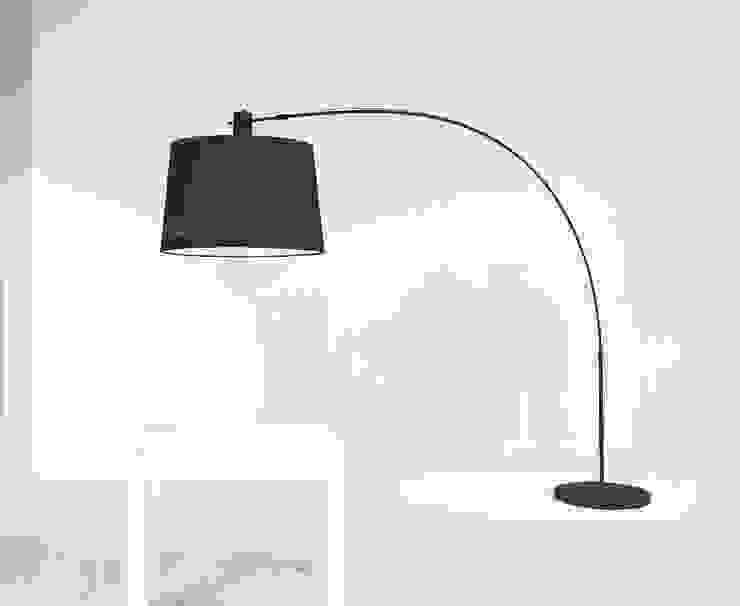 Lámpara de Salón Moderna Álamo de Ámbar Muebles Moderno