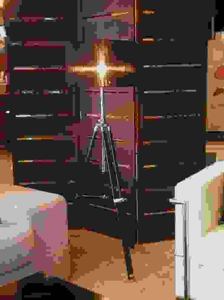 Lámpara de pie Trípode de Ámbar Muebles Moderno
