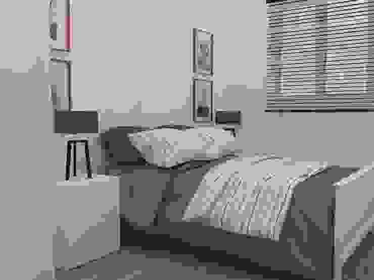 Dormitorio Casas de estilo ecléctico de MUMARQ ARQUITECTURA E INTERIORISMO Ecléctico