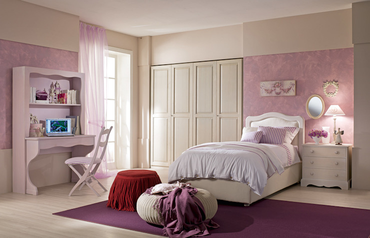 Bedroom design ideas by De Baggis Srl