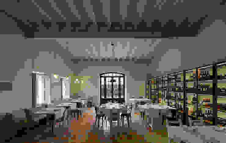 OLEOTECA SES ESCOLES Gastronomía de estilo rural de ISABEL LOPEZ VILALTA + ASOCIADOS Rural