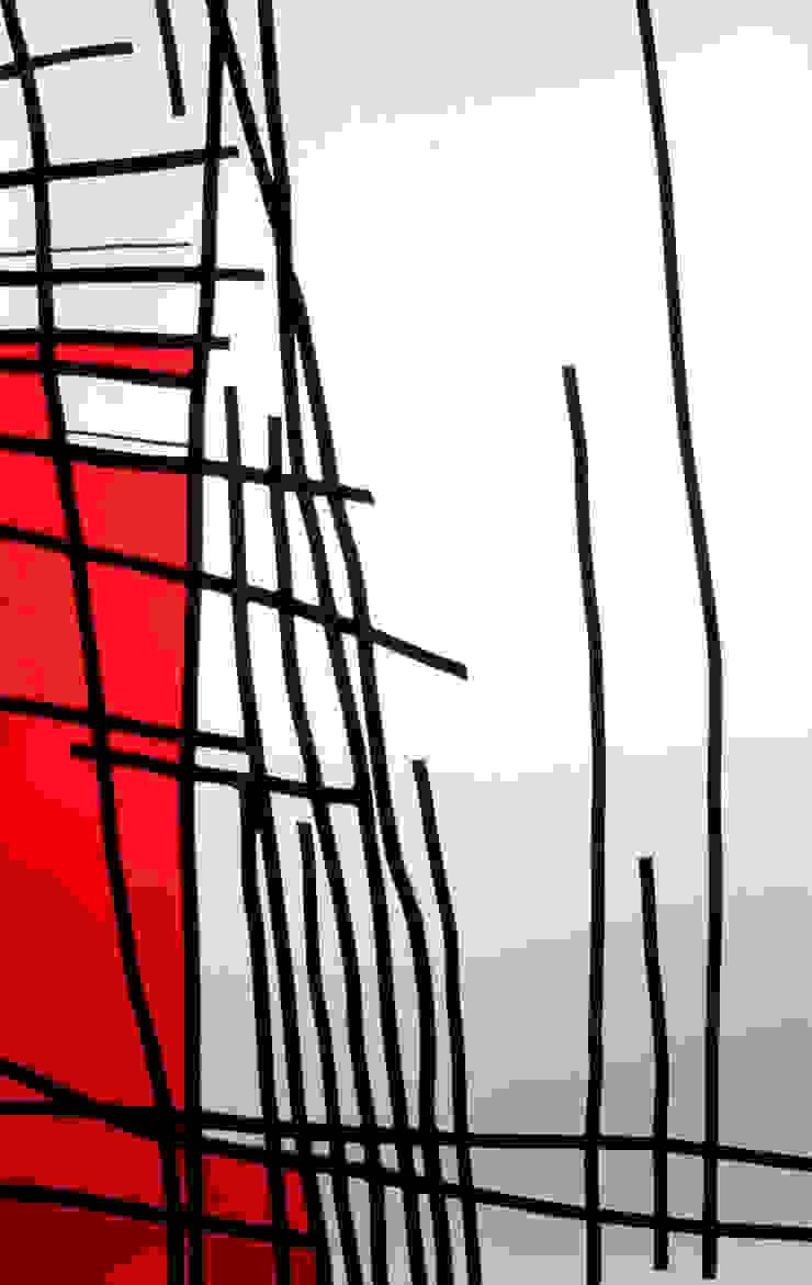 LE DESSIN DE L'ARBRE ROUGE par Desislava STOILOVA Artiste verrier