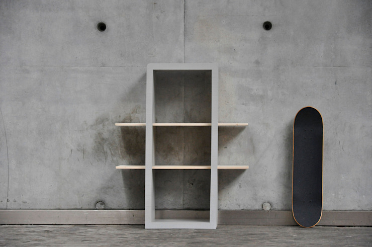 Tris:  in stile industriale di Luca Bassani  design studio, Industrial