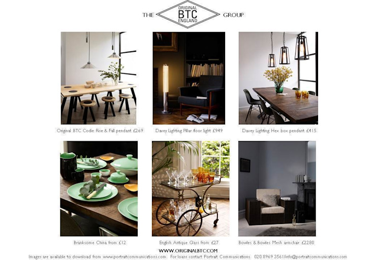 Lifestyle and Product images: industrial  by Original BTC, Industrial