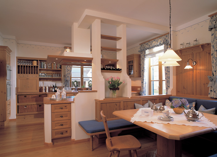 Küche von Bau-Fritz GmbH & Co. KG Landhaus