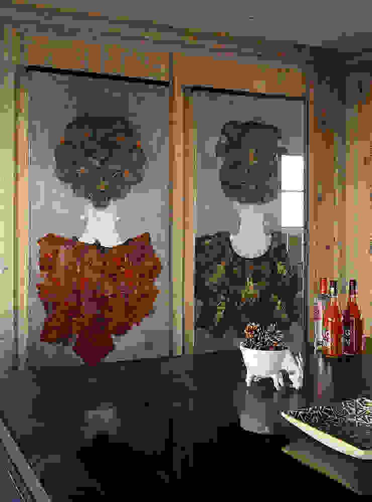 Skyfall Kitchen Detail Cucina in stile scandinavo di Architectural Interiors + Superyacht Photographer Scandinavo