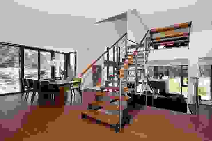 de estilo  por Bau-Fritz GmbH & Co. KG, Moderno
