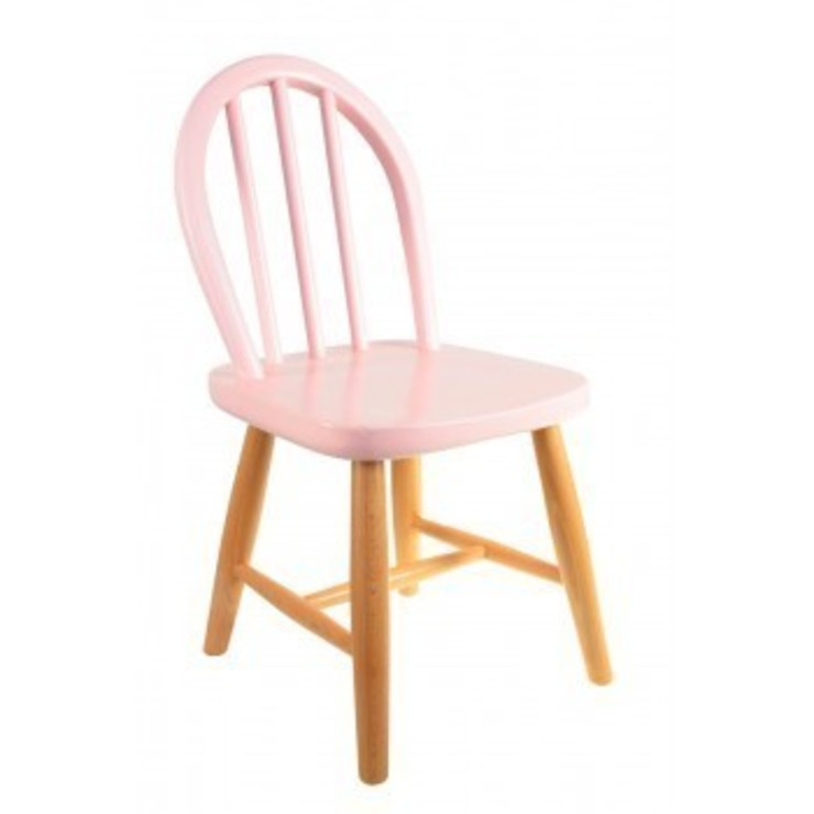 CHAISE FILOU - ROSE PASTEL par leo le pirate