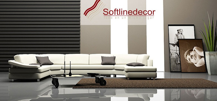 Decoración de interiores. de Softlinedecor Moderno