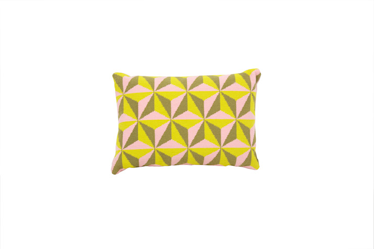 Pentreath & Hall Tethraedron - Pink and Yellow: modern  by Fine Cell Work, Modern