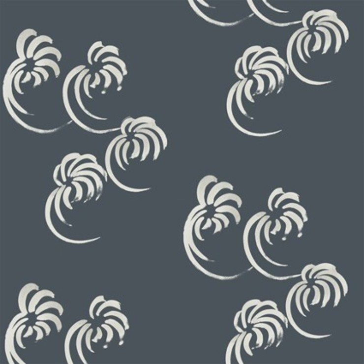 Tumblewind- grey: modern  by The Biggest Blanket Company, Modern