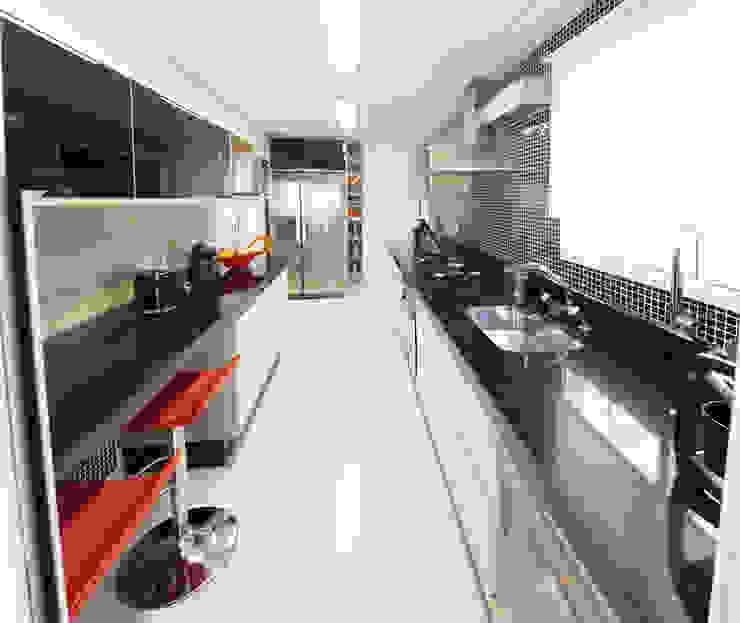 Apartamento Ipiranga I Cozinhas modernas por Erica Souza Interiores Moderno