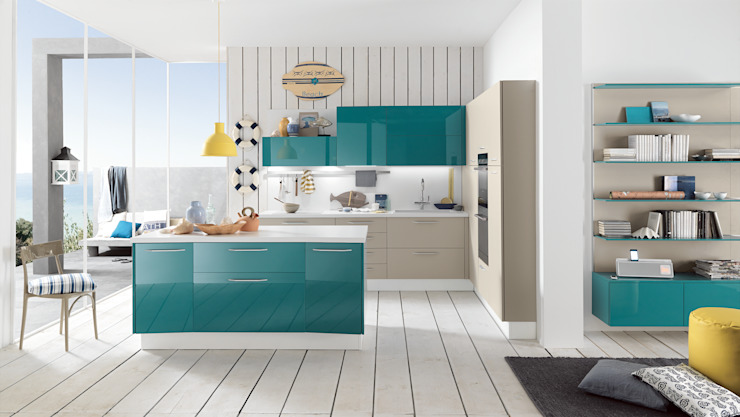 Alicante - ​Mini & Functionality Matteo Beraldi Design Office Kitchen