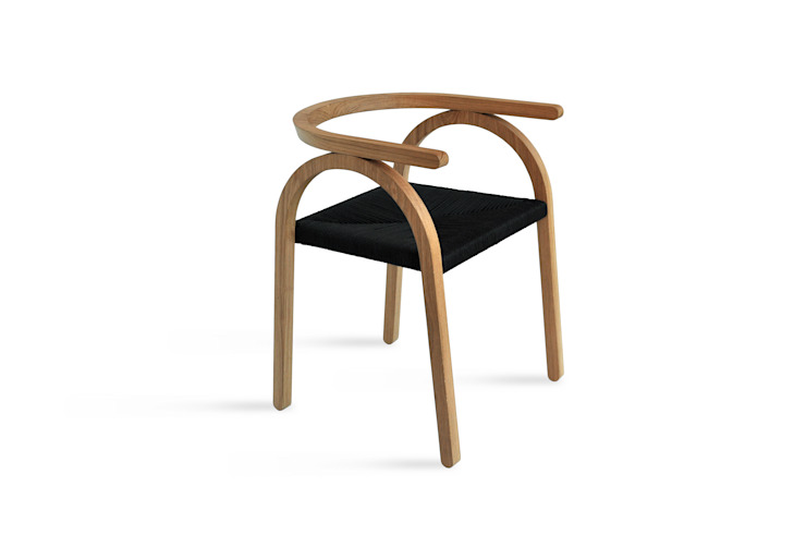 Amilcare chair di Matteo Beraldi Design Office Minimalista