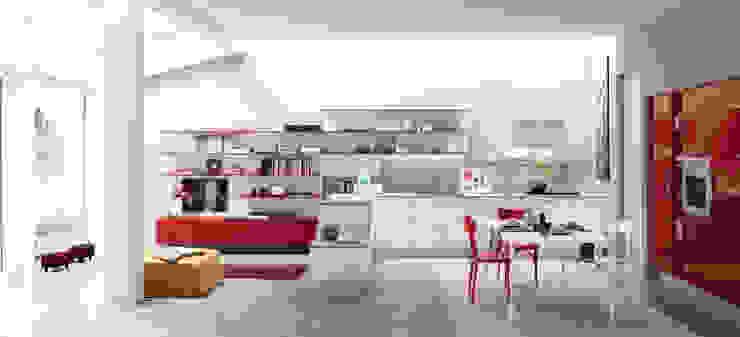 Alicante - Hybrid & Casual 모던스타일 주방 by Matteo Beraldi Design Office 모던