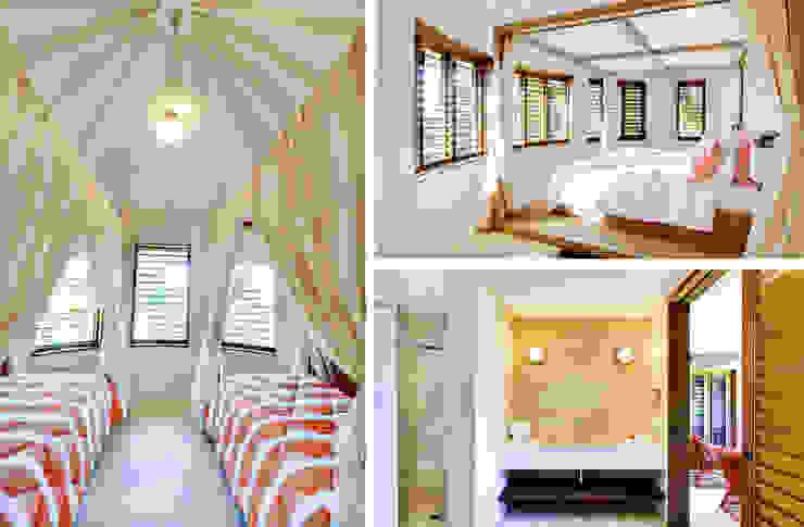 camere e bagno Case in stile tropicale di ANG42 Tropicale