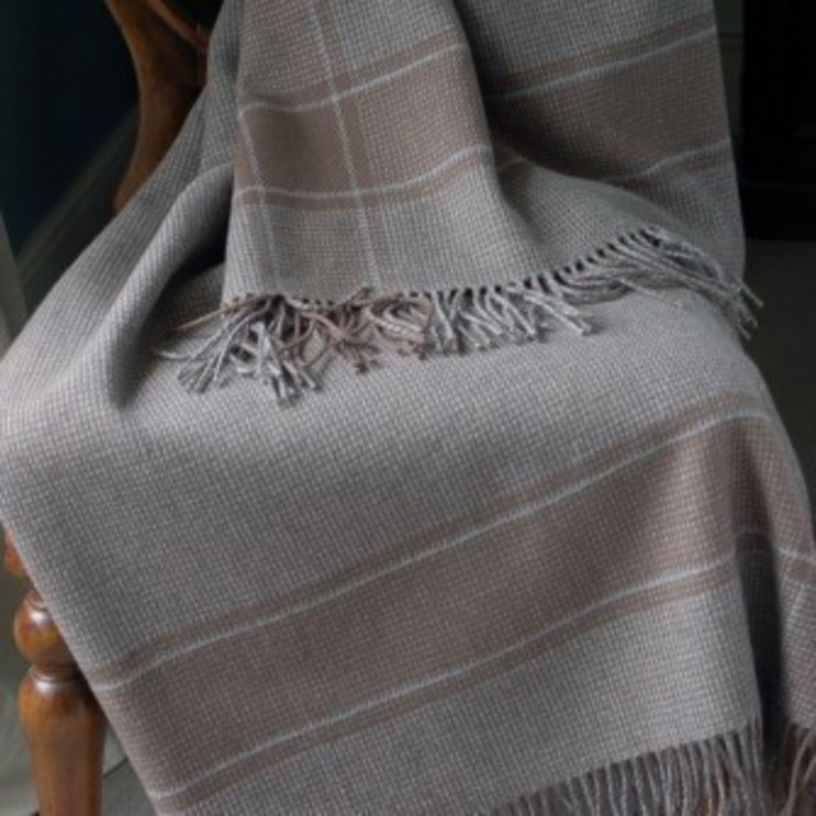 Gertrude- otter/grey: country  by The Biggest Blanket Company, Country