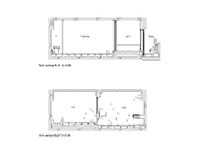 バスキッチンの家 の Takeshi Shikauchi Architect Office/鹿内健建築事務所 オリジナル