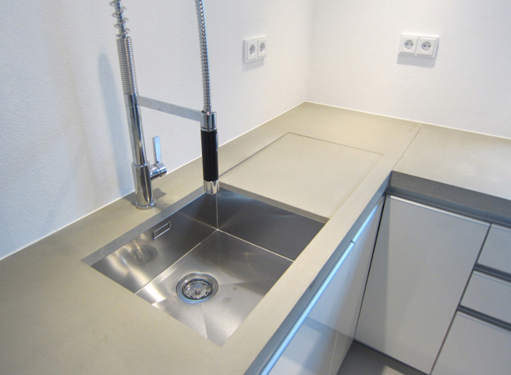 küche1_detail von planCbetoninterior Modern