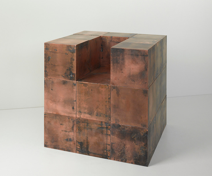 BOB System Copper cubes: modern  by Paul Kelley Ltd, Modern
