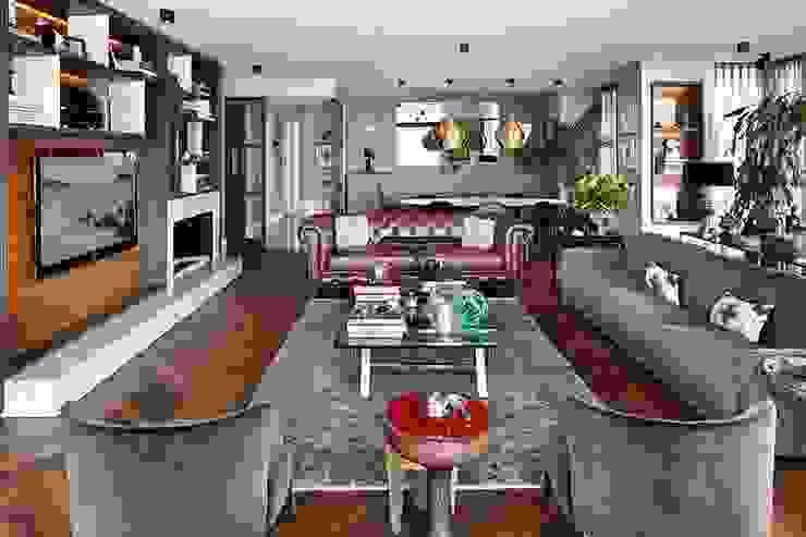 Livingroom Modern living room by Esra Kazmirci Mimarlik Modern