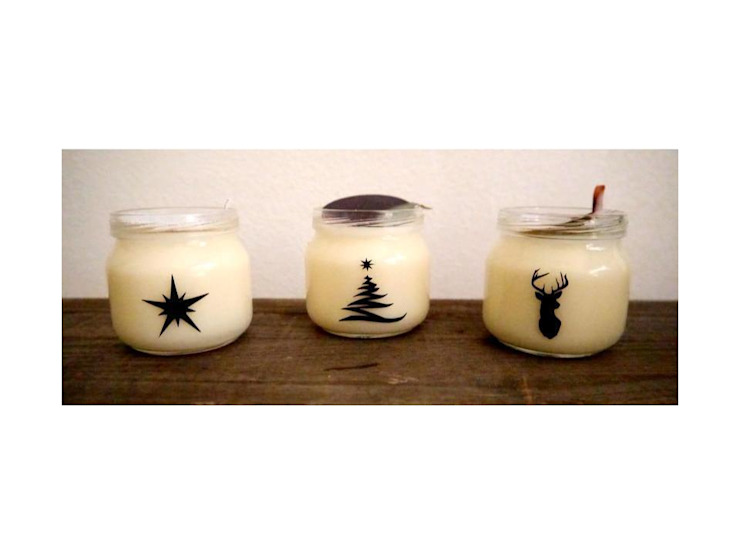 Natural Christmas Candle di KiiO Candles